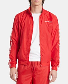 Calvin Klein Jeans Men's Nylon Track Jacket