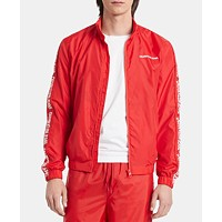 Calvin Klein Jeans Mens Nylon Track Jacket Deals