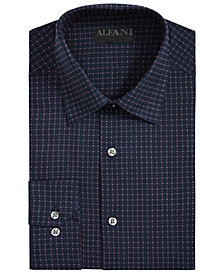 Alfani Men's Athletic-Fit AlfaTech Dobby Shirt, Created for Macy's