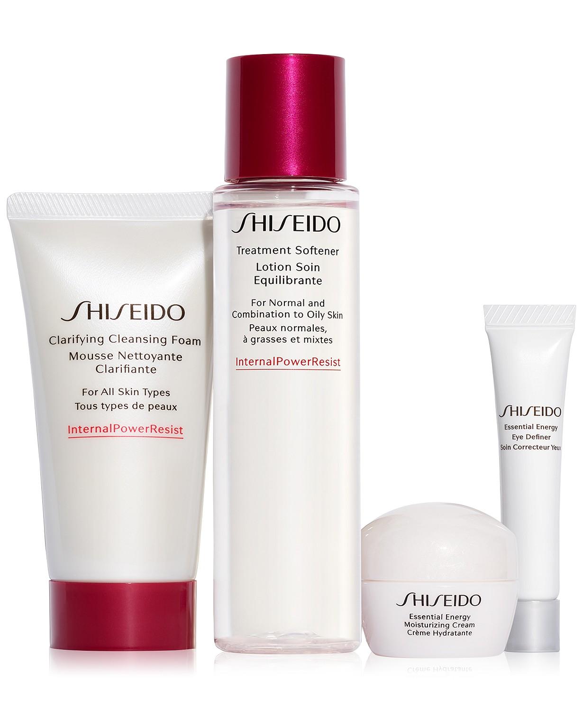 最适合亚洲皮肤!Shiseido资生堂新款超值套装$40!