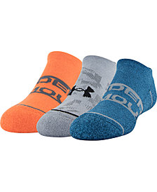 Under Armour Little Boys 3-Pk. Youth Phenom No-Show Socks