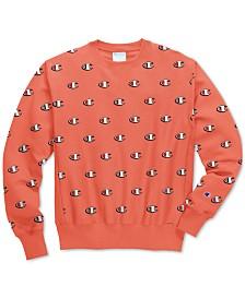 Champion Men's C-Life Reverse Weave Logo-Print Sweatshirt
