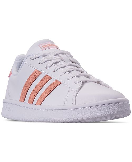 2e38c8d900 adidas Women s Grand Court Casual Sneakers from Finish Line ...