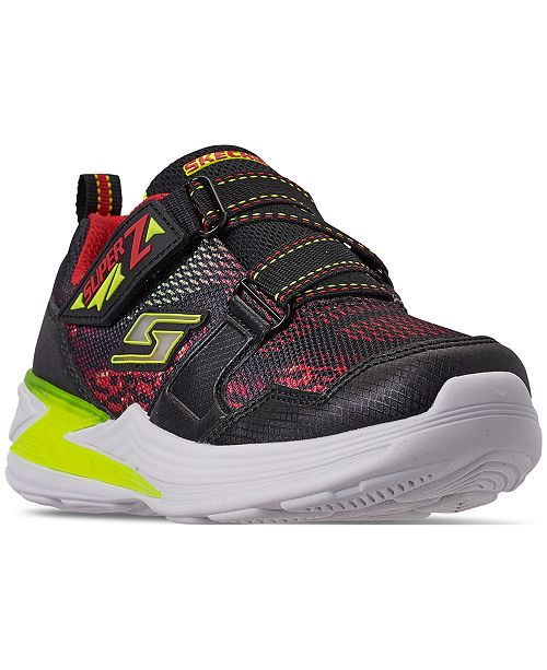 Skechers Little Boys' S Lights: Erupters III Light-Up Casual Sneakers from Finish Line