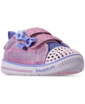 c0ee409e54 Skechers Toddler Girls  Twinkle Toes  Twinkle Play - Sparkle Sprinter  Casual Sneakers from Finish