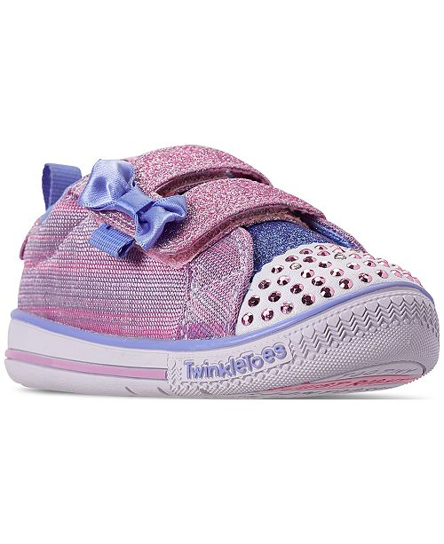 Skechers Toddler Girls' Twinkle Toes: Twinkle Play Sparkle