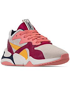 Puma Women's Nova Suede Casual Sneakers from Finish Line
