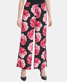 68b860e12d1 Calvin Klein Wide Leg Pants  Shop Wide Leg Pants - Macy s