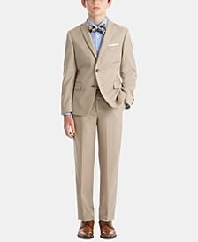 Little & Big Boys 100% Wool Suit Jacket & Pants Separates