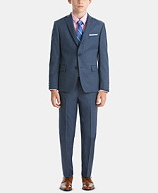 Lauren Ralph Lauren Little & Big Boys Sharkskin Wool Suit Jacket & Pants Separates