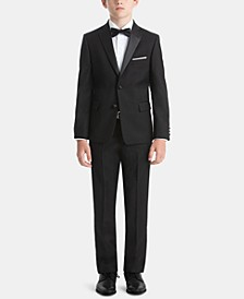 Little & Big Boys Formalwear Tuxedo Jacket & Pants Separates