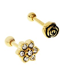 Bodifine Stainless Steel Set of 2 Flower Tragus
