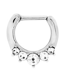 Bodifine Stainless Steel Crystal Septum Clicker