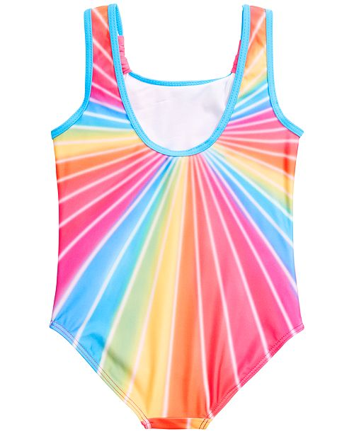 e375f4fb76203 Dream Wave Dreamwave Little Girls 1-Pc. Trolls Graphic Swimsuit ...