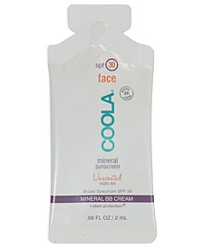 Receive a Free Sachet of Coola Mineral Sunscreen with any $30 Coola Purchase