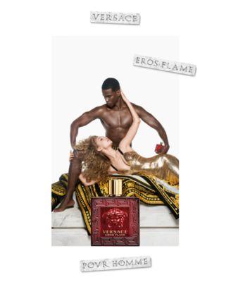 Men's Eros Flame Eau de Parfum Spray, 3.4-oz.