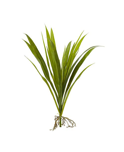 "Nearly Natural 15"" Grass Artificial Plant, Set of 6"