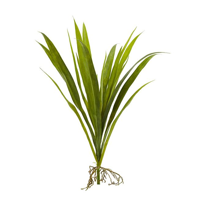 """Nearly Natural 15"""" Grass Artificial Plant, Set of 6"""