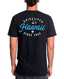 Quiksilver Men's Hawaii Store Front Graphic Tshirt