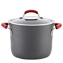 Rachael Ray 8-Quart  Hard-Anodized Aluminum Nonstick Covered Stockpot