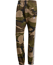 adidas Men's Camo-Print French Terry Pants