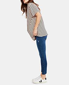 Paige Denim Maternity Ankle Skinny Jeans