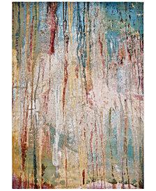 KAS Arte Lucia 6113 Ivory/Teal 5' x 7' Area Rug