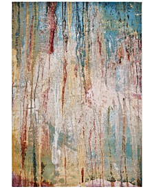 KAS Arte Lucia 6113 Ivory/Teal 4' x 6' Area Rug