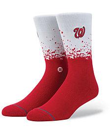 Stance Washington Nationals Fade Crew Socks