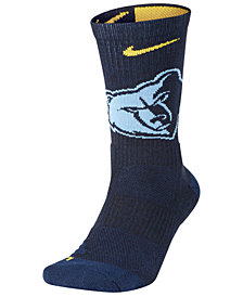 Nike Men's Memphis Grizzlies Elite Team Crew Socks