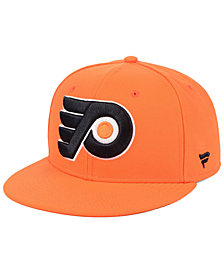 Authentic NHL Headwear Philadelphia Flyers Basic Fan Fitted Cap
