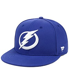 Tampa Bay Lightning Basic Fan Fitted Cap