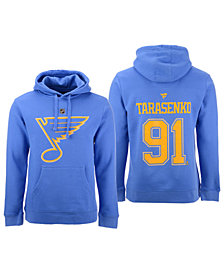 Authentic NHL Apparel Men's Vladimir Tarasenko St. Louis Blues Authentic Stack Name and Number Hoodie