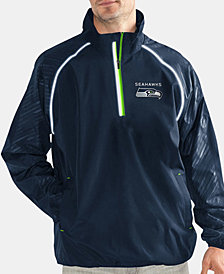 G-III Sports Men's Seattle Seahawks Oxygen Player Lightweight Pullover Jacket