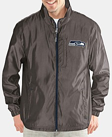 Men's Seattle Seahawks The Executive Player Front Zip Jacket