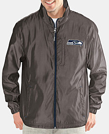 G-III Sports Men's Seattle Seahawks The Executive Player Front Zip Jacket
