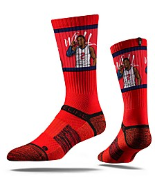 Strideline Washington Wizards John Wall Action Crew Socks