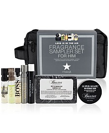 Created For Macy's 8-Pc. Love Is In The Air Fragrance Sampler Set For Him