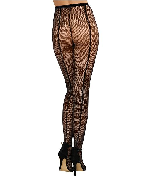 a772270965ff8 Dreamgirl Fishnet Pantyhose With Back Seam & Reviews - Women - Macy's