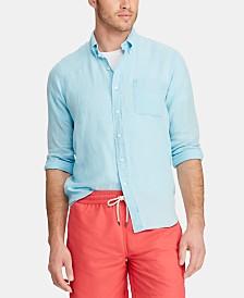 Polo Ralph Lauren Men's Slim Fit Linen Shirt