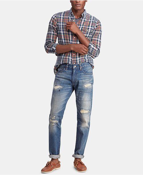 d75e53c7 Men's Sullivan Slim Distressed Cotton Jeans