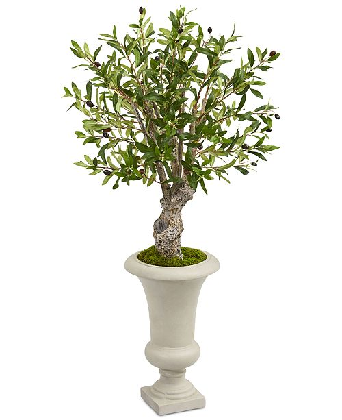 """Nearly Natural 40"""" Olive Artificial Tree in Urn"""