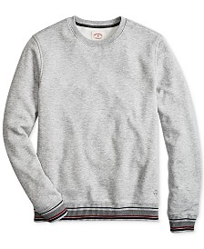 Brooks Brothers Men's Pique Fleece Sweater