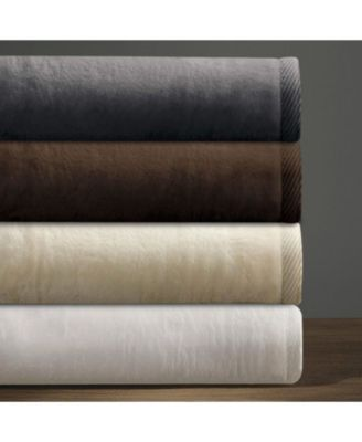 Cotton Cashmere Blanket, Queen
