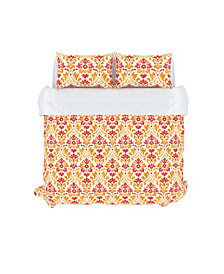 Sasha Duvet Cover Set, King, Sorbet