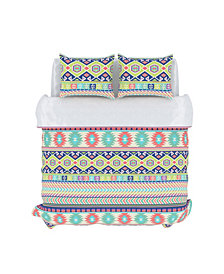 Vesper Duvet Cover Set, King, Confetti