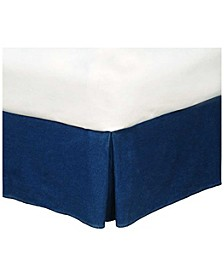 American Denim King Bedskirt