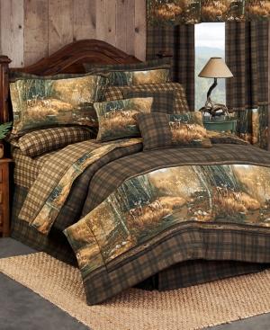Blue Ridge Trading Whitetail Birch Full Comforter Set Bedding
