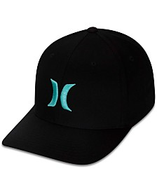 Hurley Men s One And Only Texture Flexfit Logo Hat - Hats 4c4ab4532b38