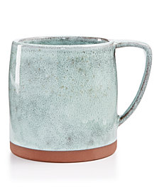 Lucky Brand Green Reactive Mug